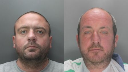 Stevenage murderers Graham King and John Jamieson are now behind bars. Picture: Herts police