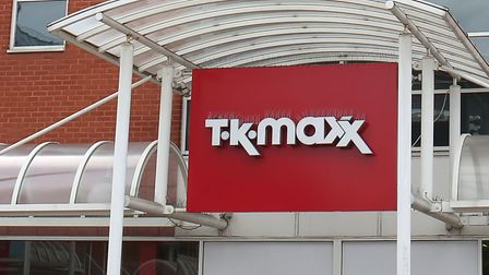 Travellers have set up camp in the car park behind TK Maxx in Stevenage.