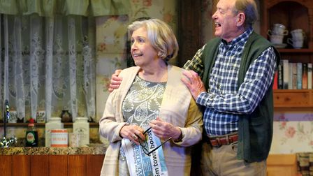 Anne Reid and James Bolam in Fracked