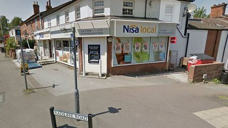 The Nisa shop at the corner of Walsworth Road and Radcliffe Road in Hitchin. Picture: Google Street