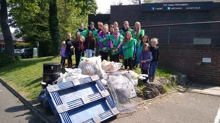 The Big Hitchin Spring Clean