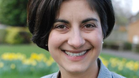 Liberal Democrat candidate for North East Hertfordshire Nicky Shepard.
