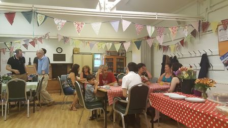 The Great Get Together in Letchworth on Saturday. Picture: Helen Oliver