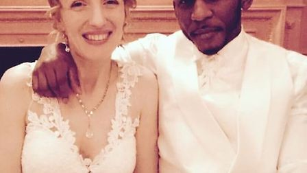 Doctor John Ndikum and his wife, Sophie, are heading to America on Monday to embark on their new adv