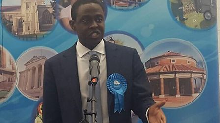 The new Hitchin and Harpenden MP Bim Afolami. Picture: Layth Yousif