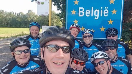The Twin Towns team on the Belgium border