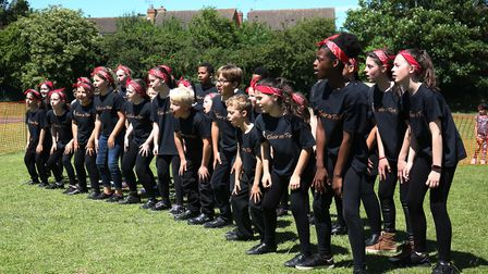 Choir on Fire perform at the William Ransom summer fair. Picture: Danny Loo