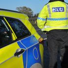 Police remain on the scene after the crash on the A505 near Baldock this morning. File photo.