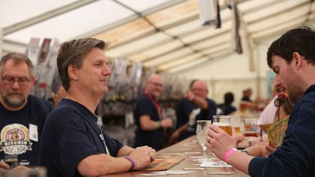 The Hitchin Beer Festival. Picture: Danny Loo