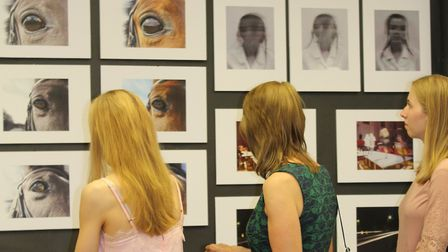 The St Francis' College art exhibition. Picture: Vanessa Spruce