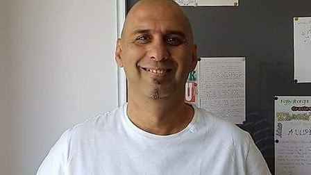 Andrew McGuinn, who is 53 and from Letchworth, was last seen in Stevenage early this morning. Pictur