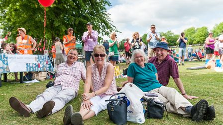 The Great Get Together on Saffron Walden Common to mark the anniversary of the death of Jo Cox MP wa