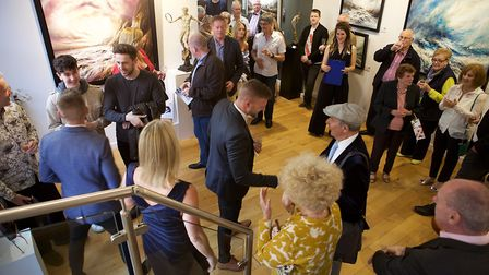 The Rocks brothers' exhibition at Gallery 1066 in Baldock. Picture: David F Boughey
