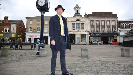 The Liberal Democrat Parliamentary candidate for Hitchin and Harpenden Hugh Annand. Picture: Danny L