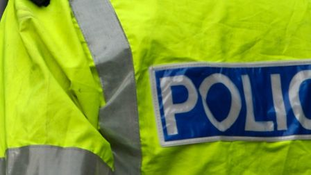 Police closed St George's Way in Stevenage yesterday after they we called over concerns for a man's