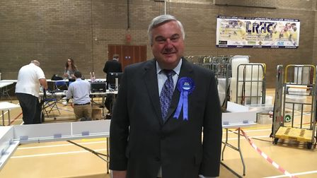Sir Oliver Heald has retained North East Hertfordshire for the Conservatives. Picture: JP Asher