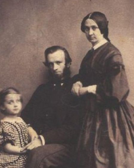 William Ransom and family. Picture: courtesy of Ransom Naturals