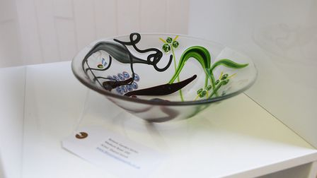 An example of the work at the Artisan Ladder pop-up shop. Picture: Karyn Haddon.