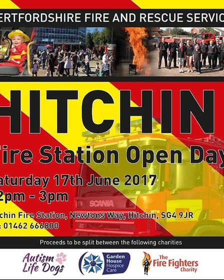 Hitchin Fire Station Open Day
