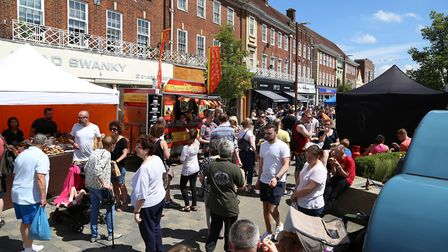 Letchworth Food & Drink Festival. Picture: Kevin Lines