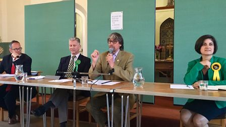 General Election hustings for North East Hertfordshire at Baldock's Methodist church: Labour candida