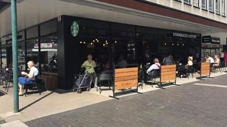 Starbucks has opened on the former Fine Fare site