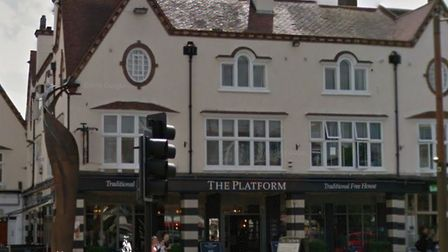 The Platform pub in Letchworth's Station Road. Picture: Google Street View
