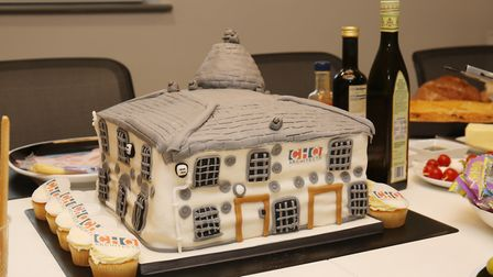 CHQ Architects of Baldock celebrate their 35th anniversary. Picture: Danny Loo