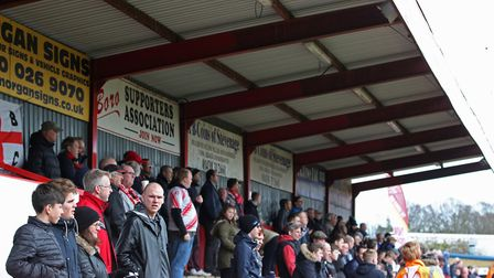 Stevenage FC have launched a mini-bond scheme to help fund a new North Stand. Picture: Danny Loo