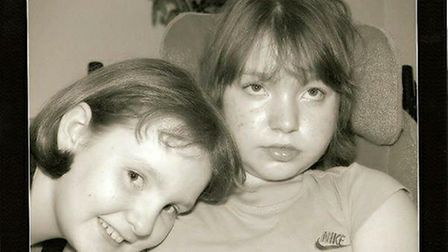 Sarah and Emily Bushaway both suffered from a terminal illness called Niemann-Pick disease type C
