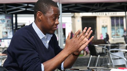 Hitchin and Harpenden conservative candidate Bim Afolami speaks to The Comet's Layth Yousif. Picture