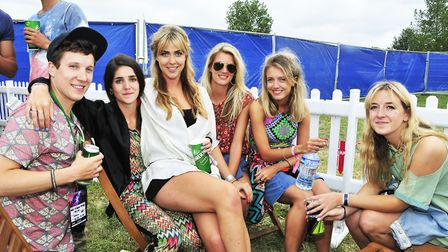 Festival goers are in for a top weekend of music.