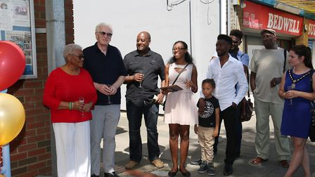 Sherma Batson's family at the renaming of The Together Centre. Picture: Danny Loo