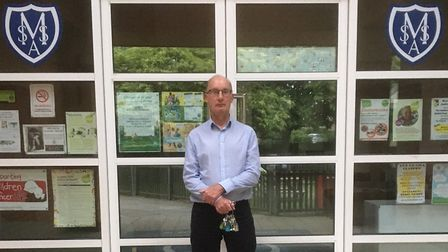 Robert Conway, who has been caretaker at St Mary's Academy in Stotfold for 25 years. Picture: Robert