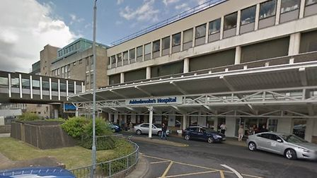 A cyclist remains at Addenbrooke's Hospital in a serious but stable condition after a crash on the o