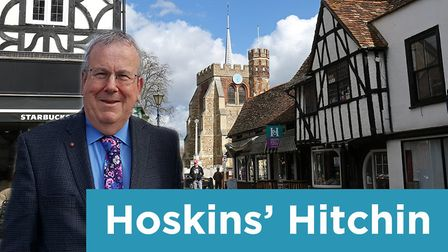Hitchin town centre manager Keith Hoskins shares his views in his weekly Comet column.
