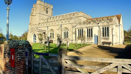 All Saints' Church in St Paul's Walden, near Hitchin, seen from the south. Picture: David Savell