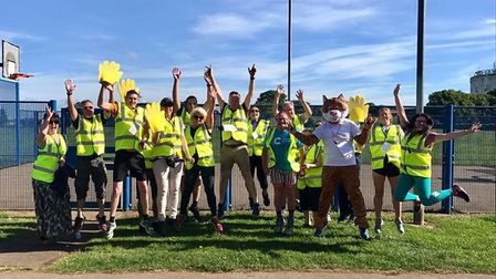 Stevenage junior parkrun is looking for volunteers after launching a 2km fun run for children at Ham