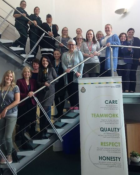 Members of the group AWE - All Women in EEAST - are keen to address gender inequality in the workpla