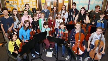 North Herts Music School have played with Hitchin Chamber Orchestra