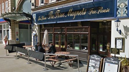 The Three Magnets pub in Letchworth's Leys Avenue. Picture: Google Street View