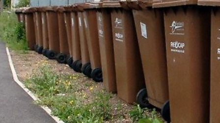 North Herts District Council is considering charging for the brown bin service