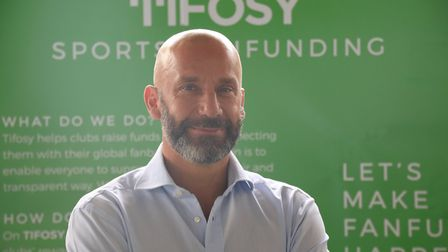 Tifosy co-founder Gianluca Vialli says Stevenage FC fans should be proud to be the first football cl