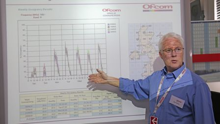 Ofcom and the Institution of Engineering and Technology (IET) hold an open day at the Baldock radio