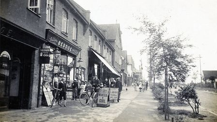 Beddoe's shop in Station Road, c. 1910s. Picture: Garden City Collection