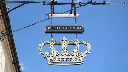 Wetherspoon is keeping the name as The Crown Hotel.