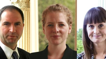 Hugh Ellis, Katy Lock and Kate Henderson of the Town and Country Planning Association, who have co-a