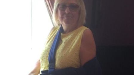 Karen Cowton, from Stevenage, has been missing since this morning. Picture: Herts police