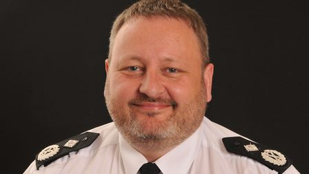 Garry Forsyth, deputy chief constable of Bedfordshire Police. Picture: Bedfordshire Police