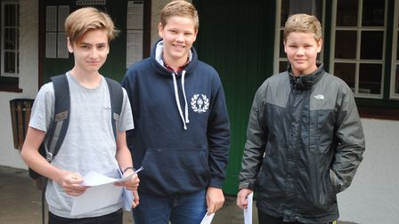GCSE results day at St Christopher School in Letchworth. Picture: St Christopher School